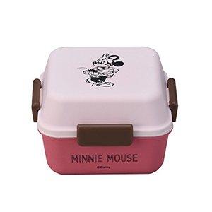 ミニー 正角ランチ ツートン ディズニー コミックアートコレクション D-MF12 maebata お弁当箱 プレゼントの1枚目の写真