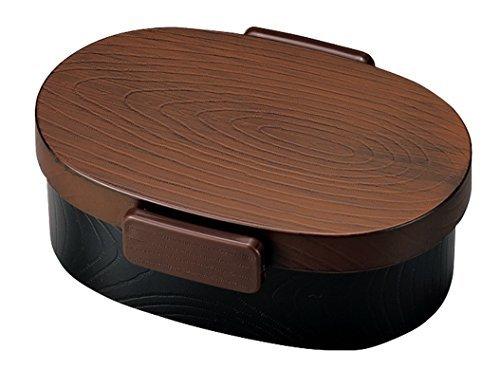 日本製 HAKOYA たつみや タイト式 木目小判弁当 小 栃木目 52903の1枚目の写真