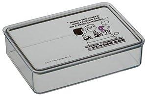 お弁当箱 システムフードケース スヌーピー フライングエース 1.4L キャラクターの1枚目の写真