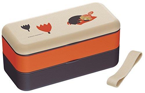 シンプル ランチボックス 600ml 弁当箱 木目調 ミィ・ミムラ ムーミン 日本製 SLBW6WB スケーター セールの1枚目の写真