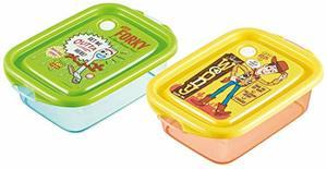 ディズニー トイストーリー シールボックス 500ml 2個セット 日本製 シールランチ お弁当箱 ランチボックス 保存容器 タッパ お昼 べんとう 遠足の1枚目の写真