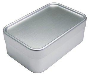 お弁当箱 アルミ 深型 Lサイズ 700mlの1枚目の写真
