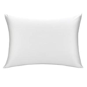 LULUSILK シルク枕カバー 100% 蚕糸 美肌 美髪 保湿 まくらカバー シルク 両面タイプ 滑らかな材質 ピロケース ファスナー付き アイボの1枚目の写真
