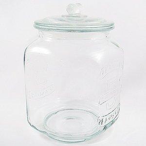 ガラスジャー 容量: 米5Kgの1枚目の写真
