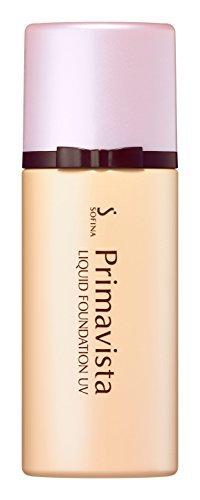 プリマヴィスタ 化粧のり実感リキッドファンデーション UV ベージュオークル05 SPF25 PA++ 30mlの1枚目の写真