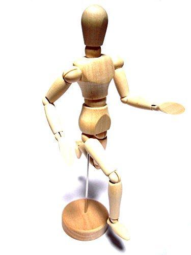 デッサン 人形 木製 ドール 絵画 写真 デザイン 工作の1枚目の写真