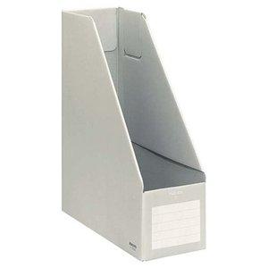 コクヨ ファイルボックスS A4 収容幅94ミリ グレー フ-E450Mの1枚目の写真