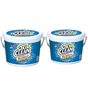 オキシクリーン 1500g 2個セット 洗濯洗剤 界面活性剤・香料無添加 酸素系漂白剤 万能漂白剤 グラフィコ||の1枚目の写真