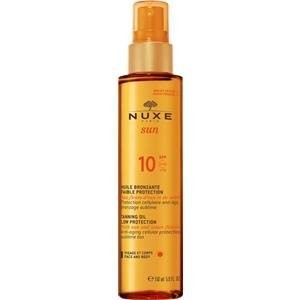 ニュクス サンケアオイル フェイス&ボディ SPF10 NUXEの1枚目の写真