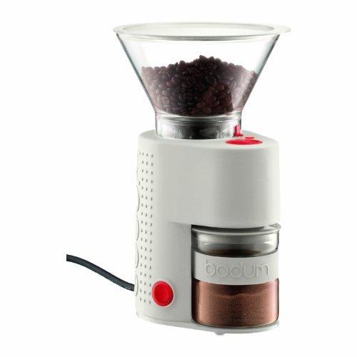 キッチンインテリアと機能を兼ねた逸品★ダブルグラス方式でコーヒー末が静電気でボディ内部に飛散するのを防ぎます。 ボダム ビストロバリ・コーヒーグラの1枚目の写真