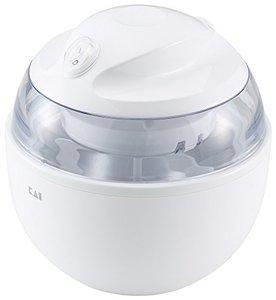 アイスクリームメーカー ホワイト DL-5929の1枚目の写真