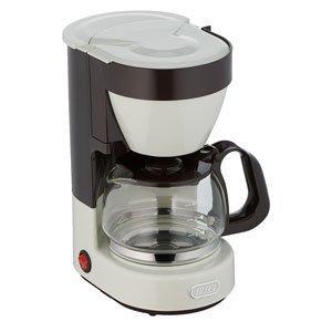 記念品・大量購入の見積歓迎向けToffy 4カップコーヒーメーカー アッシュホワイト 主婦/台所/調理に!の1枚目の写真