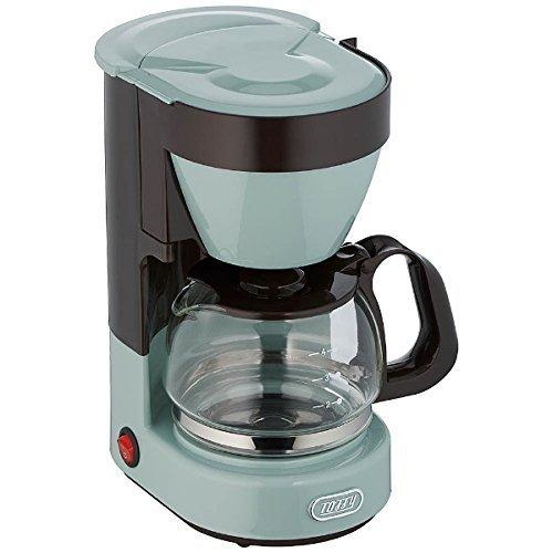 記念品・大量購入の見積歓迎向けToffy 4カップコーヒーメーカー ペールアクア 台所/便利/調理に!の1枚目の写真