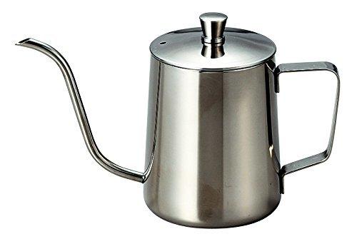 記念品・大量購入の見積歓迎向けブリューコーヒー ドリップポット シルバー 女性向け/主婦/料理に!の1枚目の写真