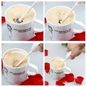 電気バッテリー卵泡立て器キッチン攪拌手持ちコーヒー牛乳起泡剤ツールの1枚目の写真