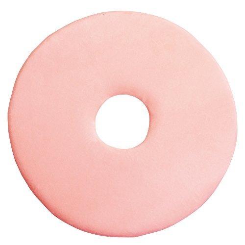 極薄もっちり低反発円座パッド ピンクの1枚目の写真