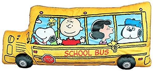 PEANUTS スヌーピー バス型 クッション 《お買い物合計金額 で 》の1枚目の写真
