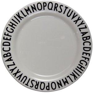 デザインレターズ メラミン ディナープレート スモール 20cm/DESIGN LETTERSの1枚目の写真