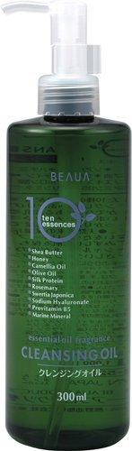クレンジングオイル BEAUA ビューア 300ml 10種のエキス 熊野油脂の1枚目の写真