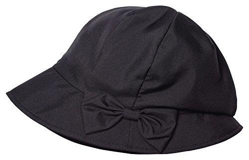 軽量ふんわり小顔UV帽子 ブラックの1枚目の写真