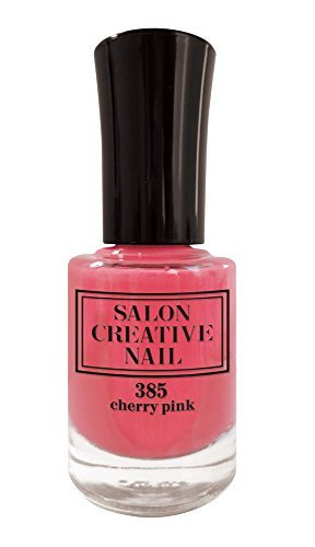 サロンクリエイティブネイル チェーリーピンク SCN385 マニキュア ネイルカラー 綺麗な発色の1枚目の写真