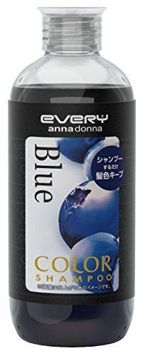 アンナドンナ エブリ カラーシャンプー ブルー 300mLの1枚目の写真