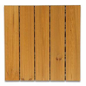 ウッド デッキ 1枚売り 天然木 ウッドパネル ウッドデッキ ベランダタイル セット売りありの1枚目の写真