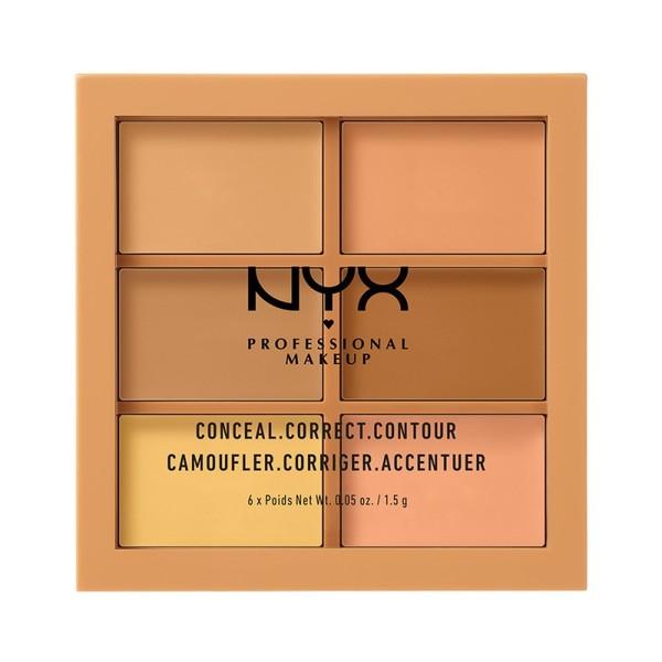 コンシール コレクト コントゥアー パレット 02 カラー・ミディアム 9gの1枚目の写真