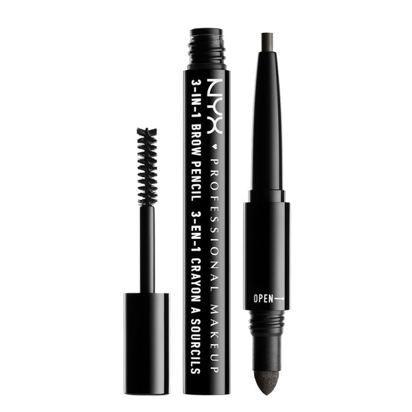 3 イン 1 ブロウ 10 カラー・ブラック Pencil: 0.2g /Powder: 0.32g/ Mascara: 1.9gの1枚目の写真