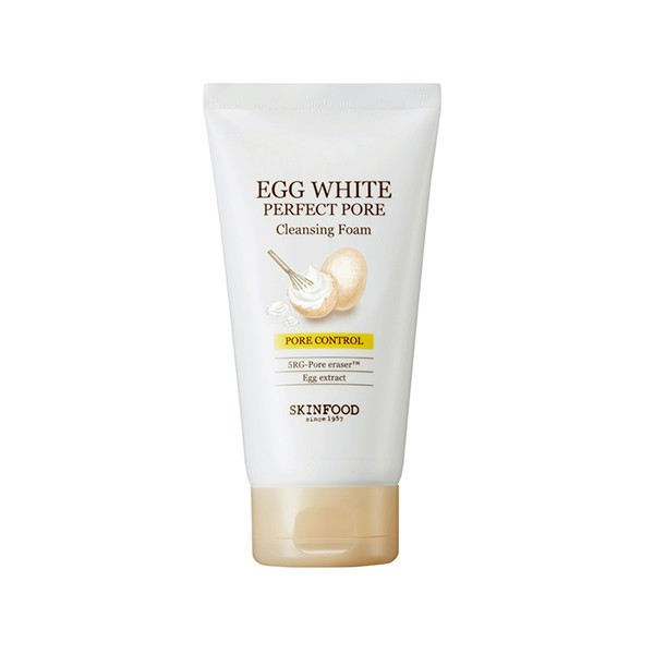 エッグホワイト パーフェクト ポア クレンジングフォーム 本体 150ml さっぱり フローラルな香りの1枚目の写真