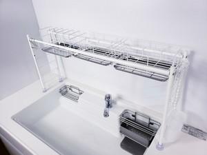 水切りラック シンク上 スリム 燕三条 水切りかごの1枚目の写真