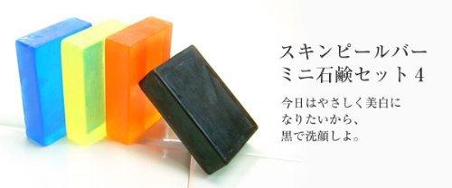 サンソリット / スキンピールバー ミニ石鹸セット4の1枚目の写真