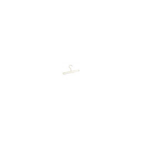 PETSOLA 衣類ハンガー 服ハンガー ズボン スカート 安全 耐久性 2色選べる - ローズゴールドの1枚目の写真