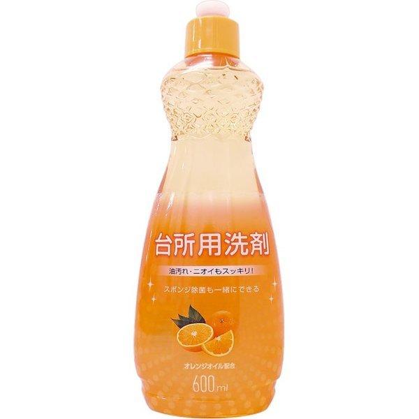 MK 台所用洗剤 オレンジ 本体 600mlの1枚目の写真