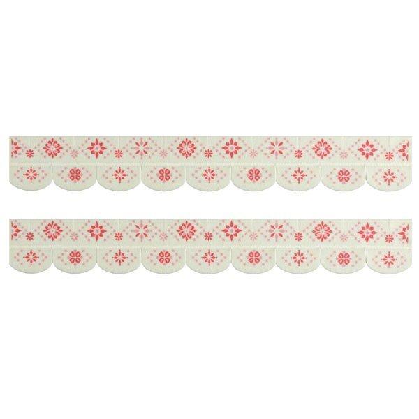 便器すきまテープ モロッコタイル ピンク/KM-49の1枚目の写真